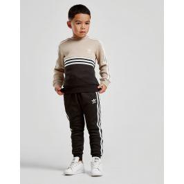 adidas Originals Authentic Crew Tracksuit Children - Only at JD, Beige