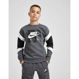 Nike Air Crew Sweatshirt Junior - Only at JD, Gris La ropa más vendida para todos.