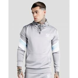 SikSilk sudadera con capucha Sprint 1/4 Zip - Only at JD, Gris