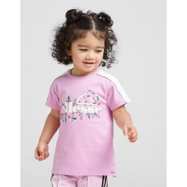 Opiniones Ellesse Girls' Aster T-Shirt Infant - Only at JD, Lilac/White