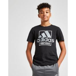 adidas camiseta Performance Box júnior, Negro
