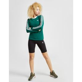 Opiniones adidas Originals 3-Stripes Long Sleeve California T-Shirt, Verde