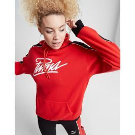 PUMA Panel Script Boyfriend Hoodie - Only at JD, Rojo