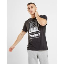 Opiniones adidas camiseta Box Fade Logo - Only at JD, Negro