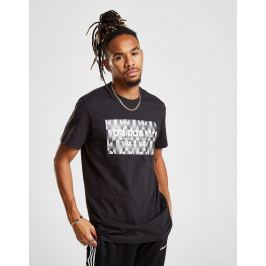 adidas Originals camiseta Trefoil Reflective - Only at JD, Negro