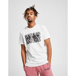 adidas Originals camiseta Trefoil Reflective - Only at JD, Blanco