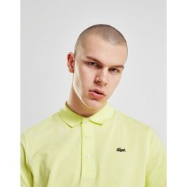 Opiniones Lacoste Alligator Short Sleeve Polo Shirt, Amarillo