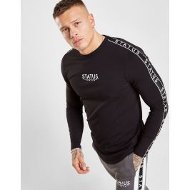 STATUS Wilson Long Sleeve T-Shirt, Negro