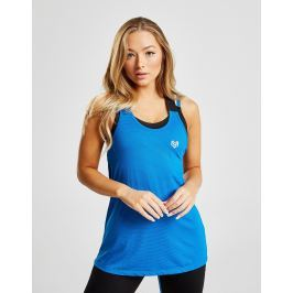 Opiniones Pink Soda Sport Cross-Back Strap Tank Top - Only at JD, Azul