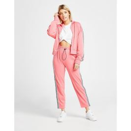 Juicy by Juicy Couture Tape Wide Leg Track Pants, Rosa