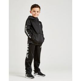 Opiniones Nike Air Max 1/2 Zip Poly Suit Children - Only at JD, Negro