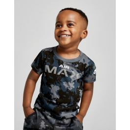 Nike Air Max Camo T-Shirt Infant - Only at JD, Azul
