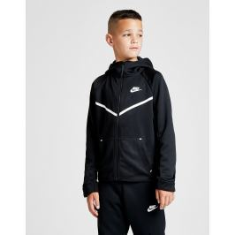 Nike chaqueta con capucha Tech Poly Full Zip júnior, Negro