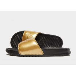 Nike Benassi Just Do It Slides Women's, Negro