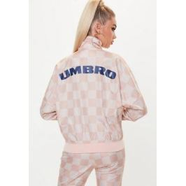 Opiniones x Missguided Chaqueta de chándal oversize con manga batwing en rosa